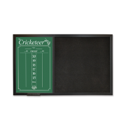The Cricketeer BackBoard ScoreBoard - Black