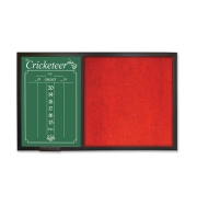 The Cricketeer BackBoard ScoreBoard - Red